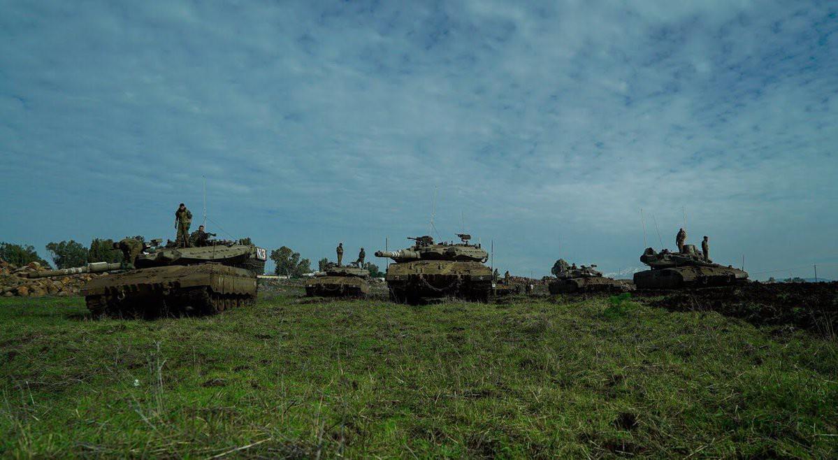 الجيش الإسرائيلي يكمل سلسلة من تدريباته على مستوى الألوية في المنطقة الشمالية