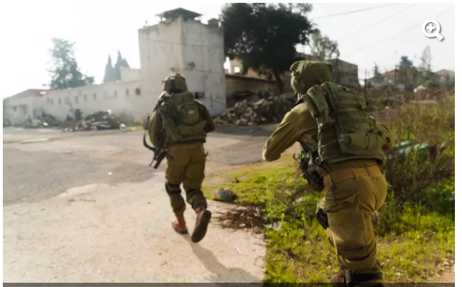 """تدريباء للواء """"حيرم"""" تحاكي اجتياح بري لقوات حزب الله"""