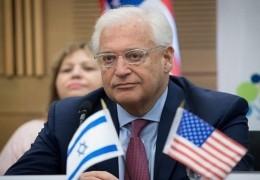 السفير الأمريكي: لا سبب لإخلاء المستوطنات في الضفة