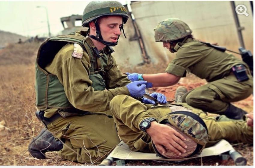 إصابة جندي إسرائيلي بجروح خطيرة في موقع عسكري بالأغوار