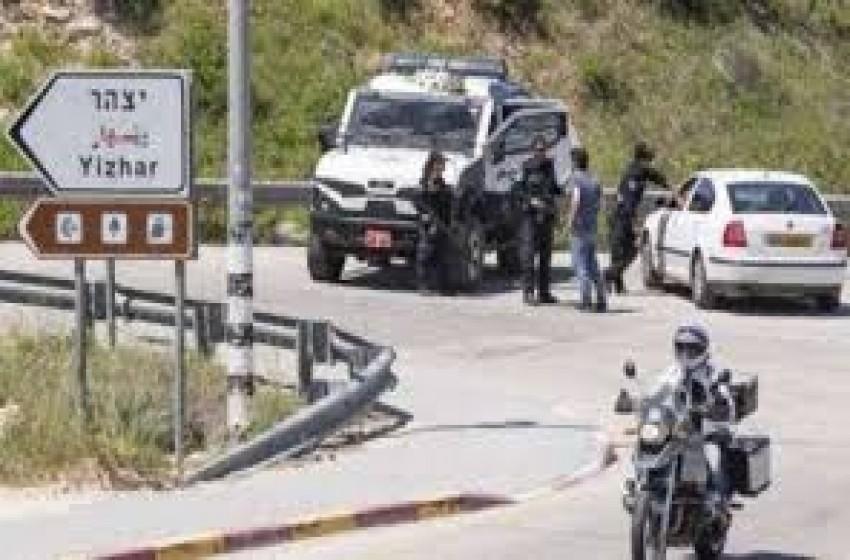 الجيش الإسرائيلي يعتقل فلسطينيا قرب مستوطنة يتسهار