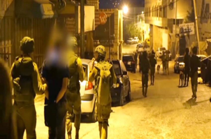 اعتقال 20 فلسطيني الليلة من الضفة الغربية والقدس