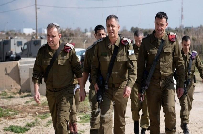 كوخافي يحظر خروج الجنود من القواعد العسكرية المغلقة