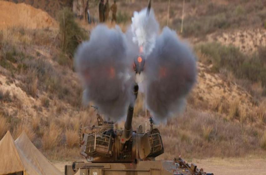 المدفعية الإسرائيلية تجري تدريبات تحاكي استهداف مواقع لحزب الله