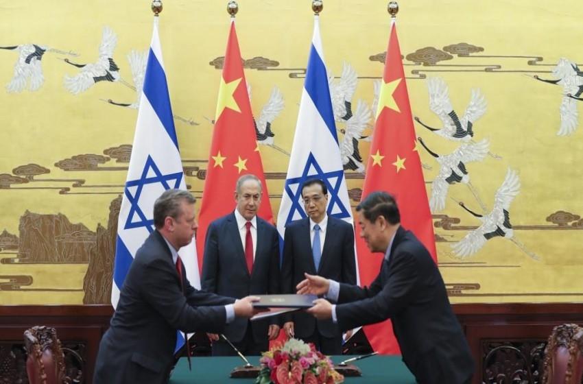 قلق أمريكي إزاء تنامي العلاقات الصينية الإسرائيلية