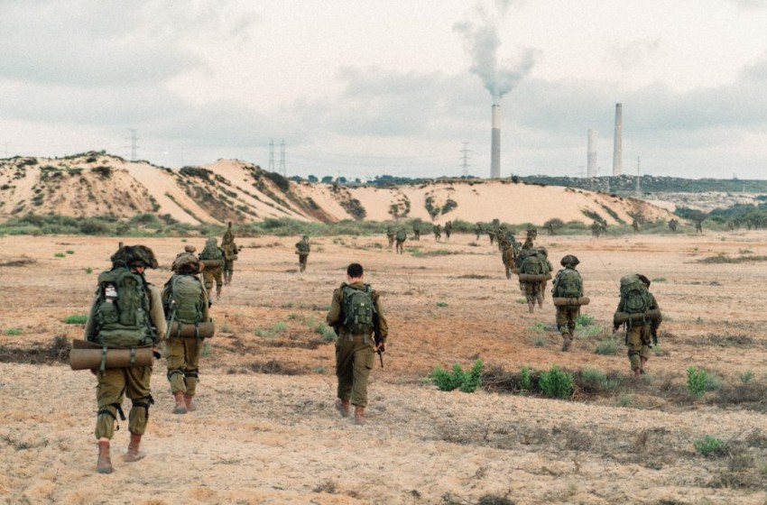 """الجيش """"الإسرائيلي"""" يتدرب على إحتلال قطاع غزة"""