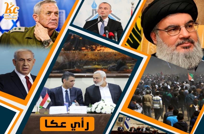 المشهد السياسي الأمني والعسكري الإسرائيلي