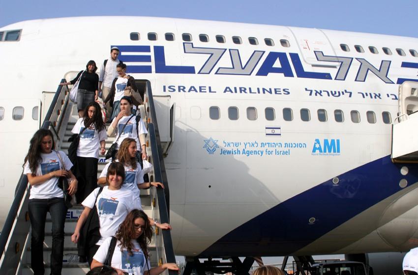 """158 مهاجرًا يهوديًا يصلون """"إسرائيل"""" اليوم قادمين من فرنسا"""