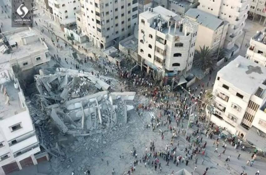 """لماذا قصفت """"إسرائيل"""" مؤسسة سعيد المسحال؟"""