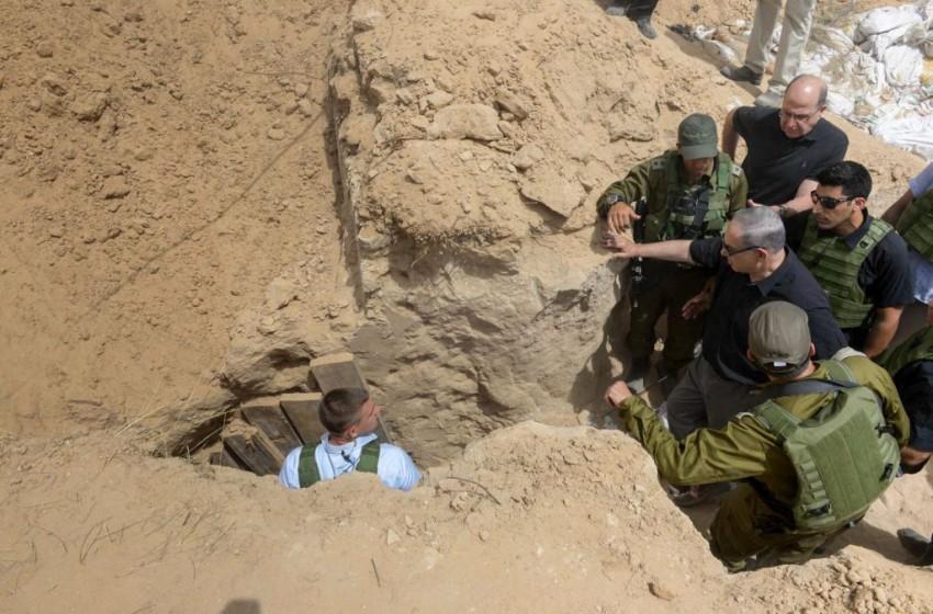 """""""الجيش الإسرائيلي"""" يفشل في إيجاد حلول لمواجهة أنفاق غزة"""