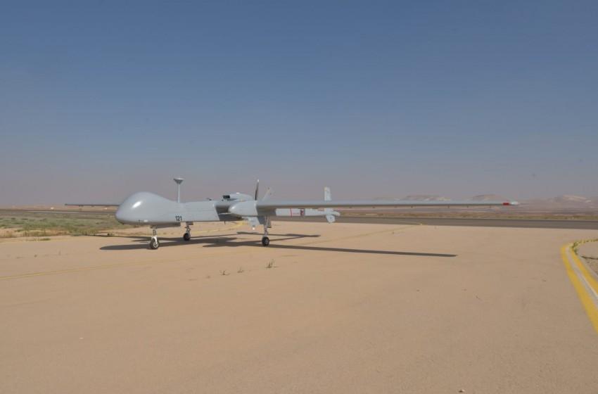 تجارب على طائرة بدون طيار صنعتها إسرائيل لألمانيا