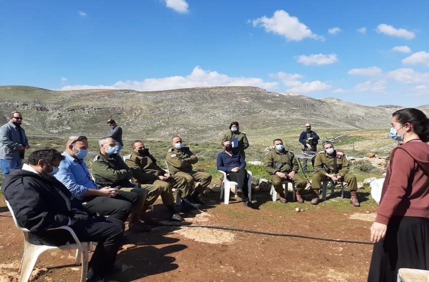 """دلالات ومآلات لقاء قائد المنطقة الوسطى بالجيش الإسرائيلي مع """"فتية التلال"""""""