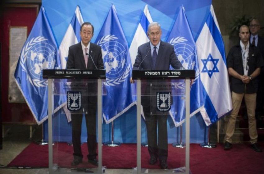 نتنياهو لأمين عام الأمم المتحدة: ساعدنا على إستعادة  الجنود من حماس