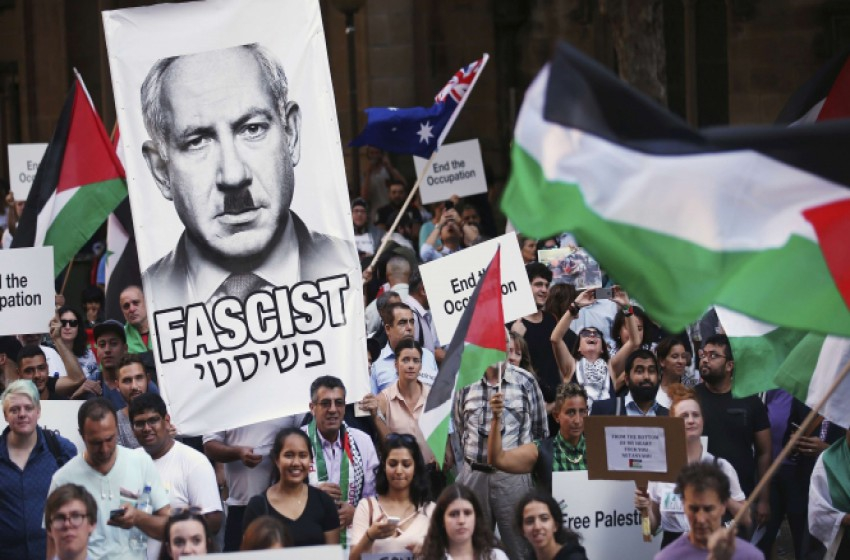 تظاهرات ضد نتنياهو بأستراليا