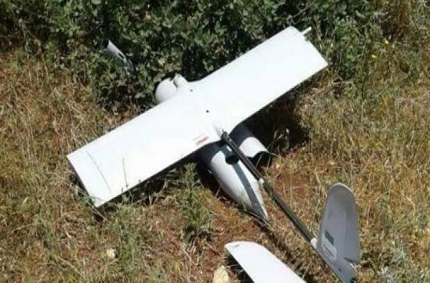 """سقوط طائرة استطلاع """"إسرائيلية من طراز """"راكب السماء"""" وسط قطاع غزة"""