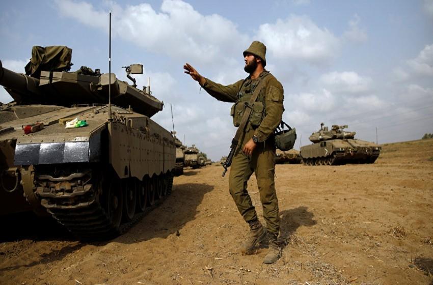 مناورة عسكرية للجيش الإسرائيلي على حدود غزة