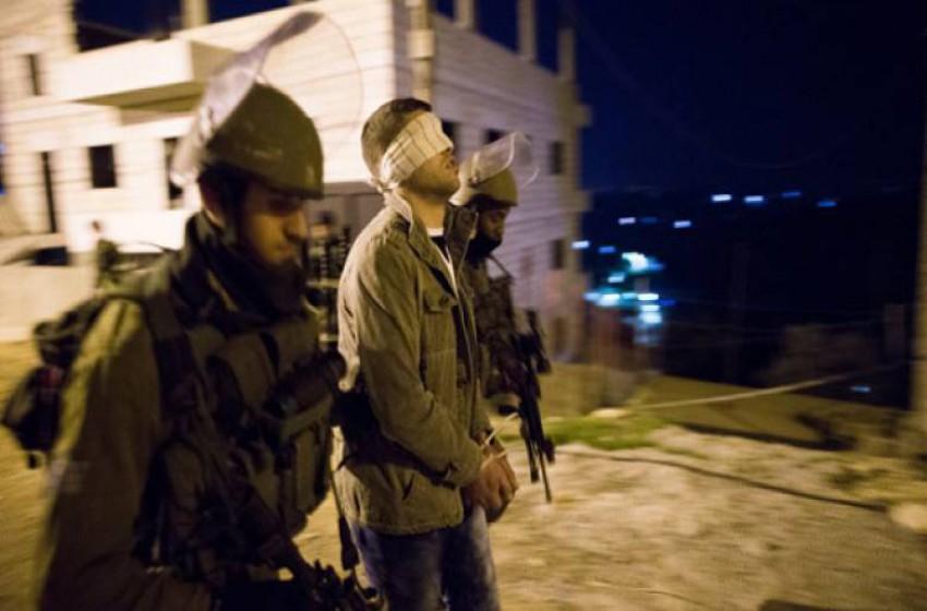 الجيش الإسرائيلي اعتقل الليلة الماضية تسعة مواطنين من الضفة الغربية