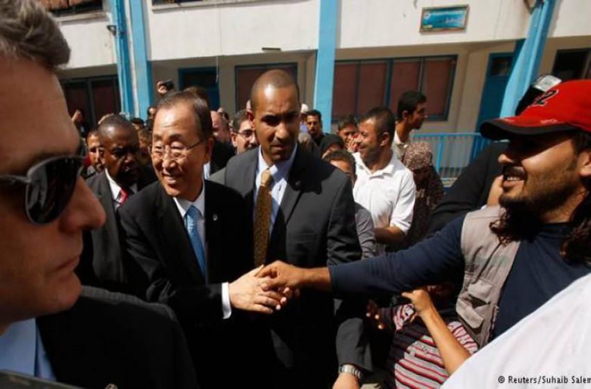 """مرافق الأمين العام للأمم المتحدة """"إسرائيلى"""" وخدم بالجيش"""