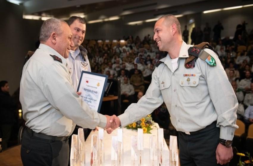 آيزنكوت يكرم أفضل وحدات الجيش الإسرائيلي.. تعرف عليها