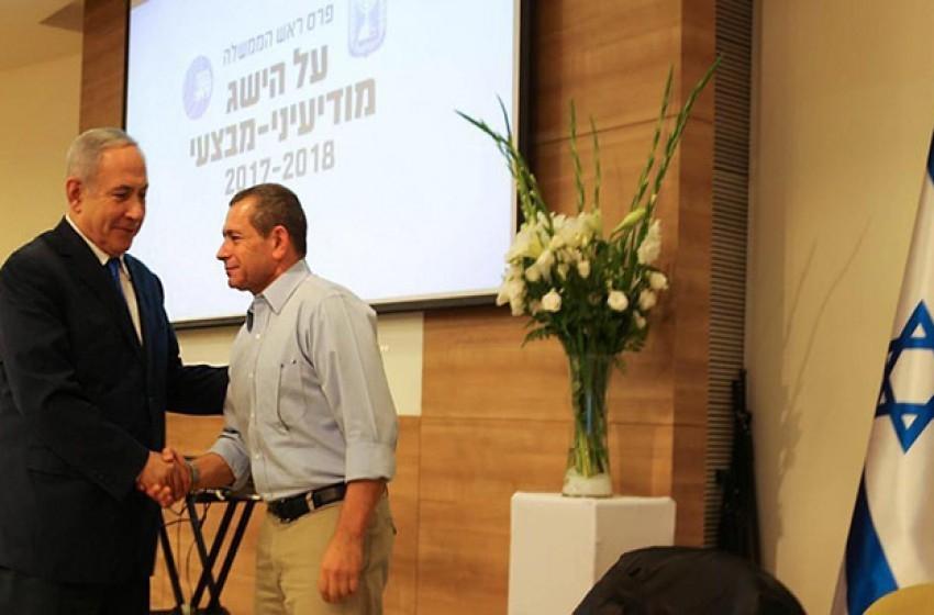 نتنياهو يمنح جائزة رئيس الوزراء لعدد من  عناصر من الشاباك