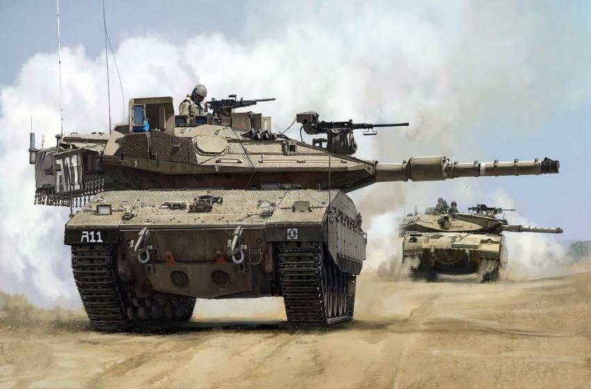 """لحرب محتملة.. """"إسرائيل"""" تزود السعودية بـ500 دبابة """"ميركافا"""" سراً"""