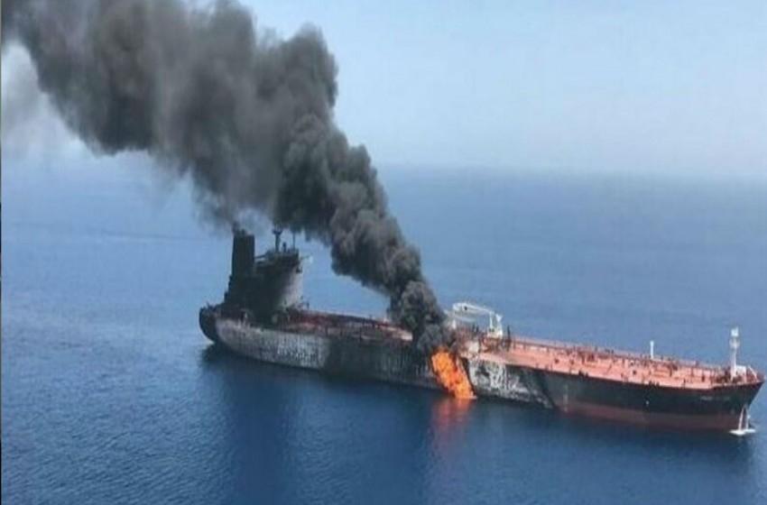 هجوم يستهدف ناقله نفط إيرانية قرب السعودية