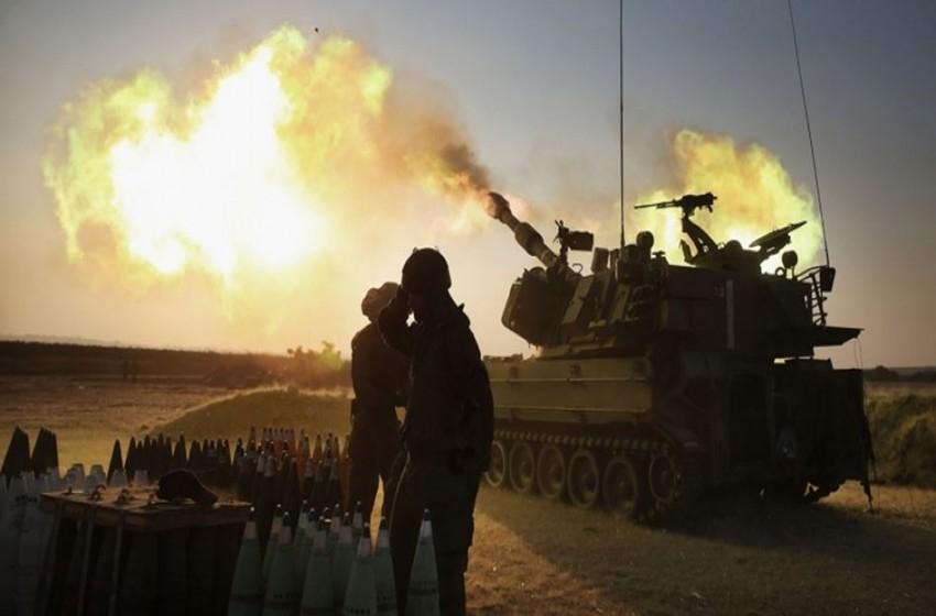 سلاح المدفعية الإسرائيلي يجري تجربة لصاروخ مطور